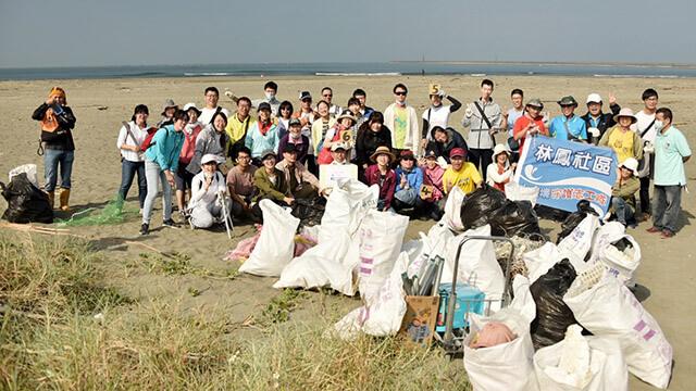 台南禪修會館:淨灘活動