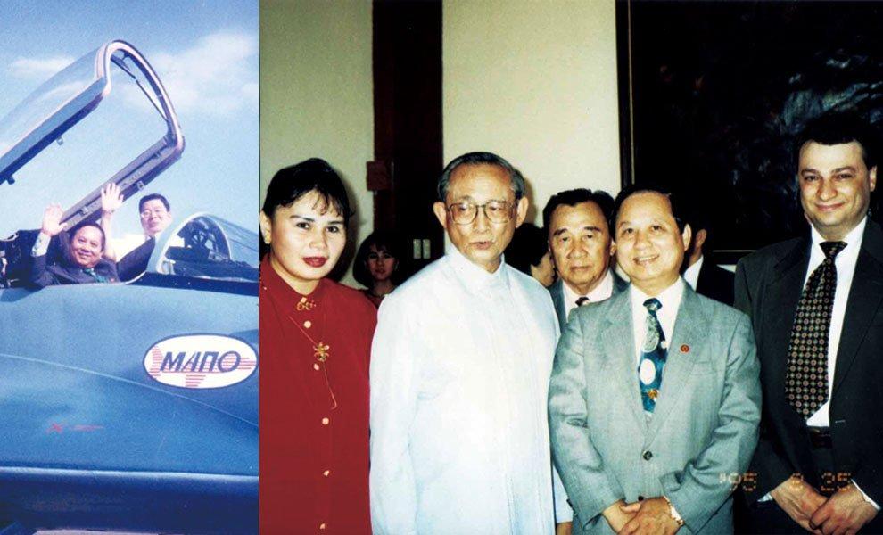 1995年,悟覺妙天禪師親赴菲律賓弘法,與當時總統羅慕斯會晤