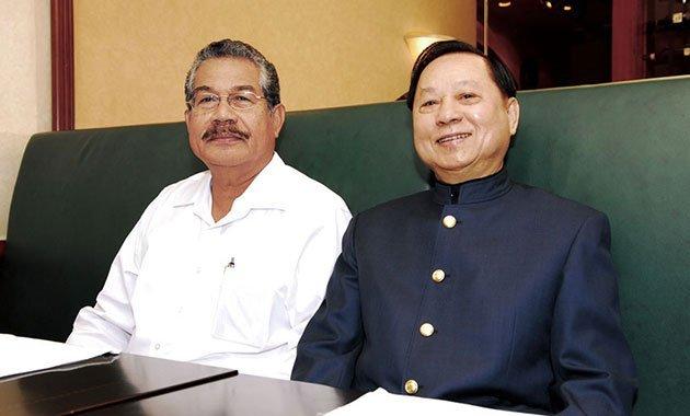 2008‧帛琉陶瑞賓總統來台,與悟覺妙天禪師會晤